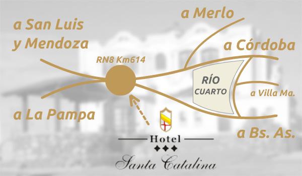 Como Llegar al Hotel Santa Catalina